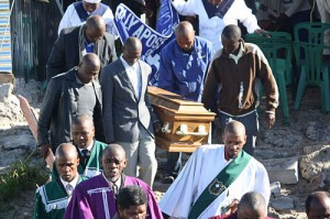 20-months-old victim of protest action laid to rest
