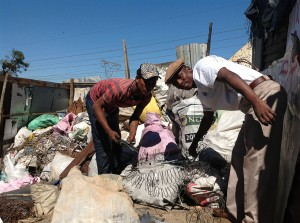 Landfill security guards sell expired food for R10, say informal settlement residents