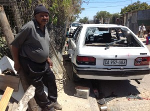 Man crippled as learner driver veers off road