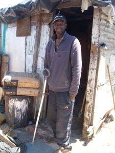 Pensioner in the cold amid allegations of housing corruption
